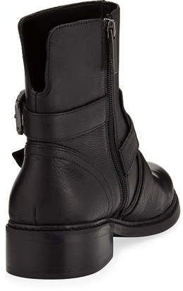 KENDALL + KYLIE Nori Buckle-Strap Leather Booties