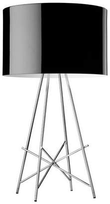 Flos Official Ray T Black Color Modern Table Lamp by Rodolfo Dordoni
