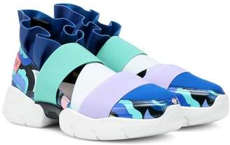 Emilio Pucci Colorblocked sneakers
