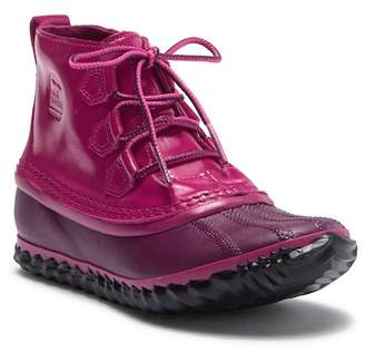 Sorel Out N About Patent Leather Waterproof Boot (Little Kid & Big Kid)