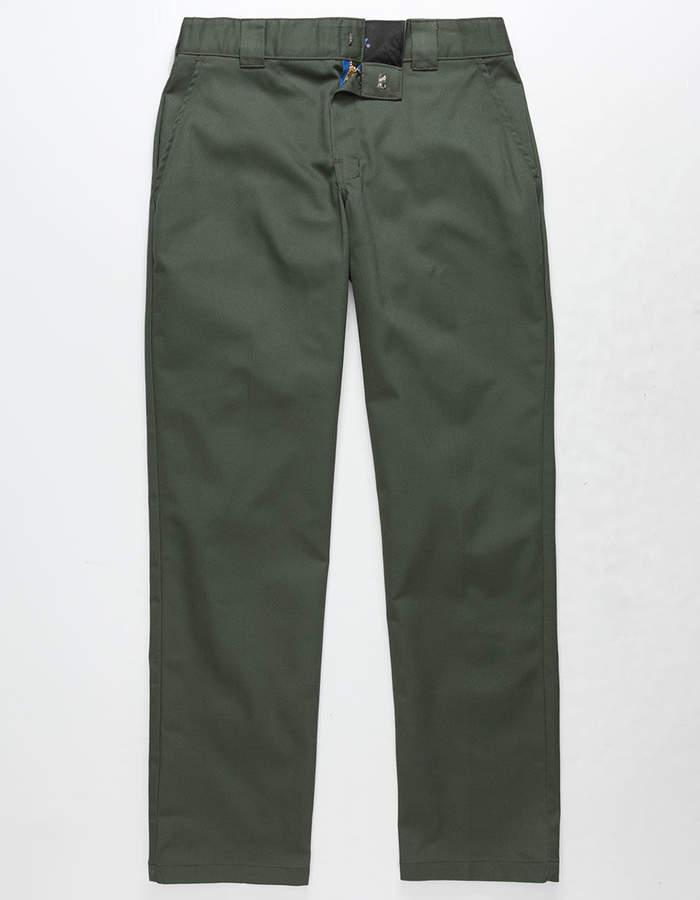 Dickies 850 Slim Taper Flex Olive Mens Pants
