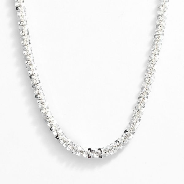 Margherita Silver 100 chain necklace