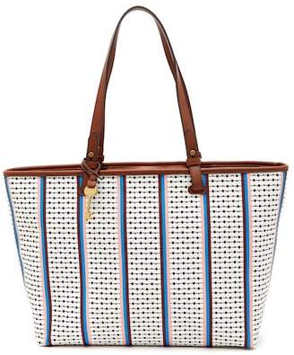 Fossil Rachel Multi-Stripe Tote Bag