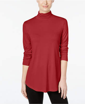 JM Collection Petite Turtleneck Top, Created for Macy's