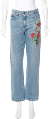 Gucci 2017 High-Rise Jeans w/ Tags