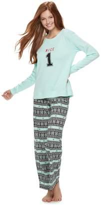 8dd089fd34 So Juniors  SO Cozy 2-pc. Pajama Set