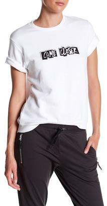 ELEVENPARIS 'Come Closer' Short Sleeve Sweatshirt $88 thestylecure.com