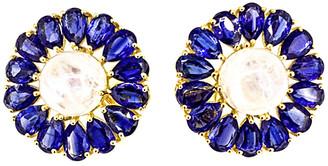 Arthur Marder Fine Jewelry Gold Over Silver Gemstone Earrings