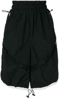 Almaz lace sports shorts