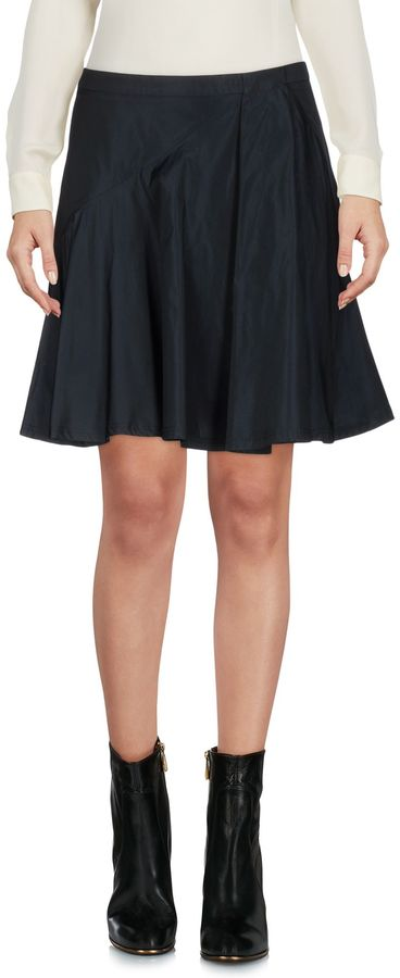 Jil SanderJIL SANDER NAVY Mini skirts