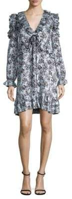 Robert Rodriguez Orchid Ruffle Dress