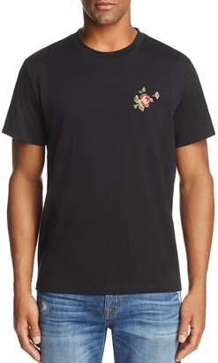 7 For All Mankind Floral Graphic Crewneck Short Sleeve Tee