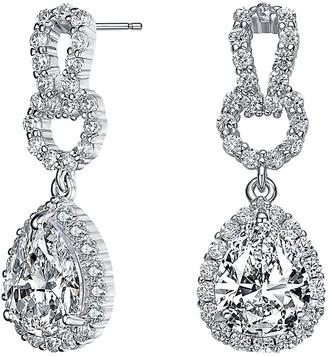 Genevive Silver Earrings