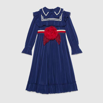 Gucci Children's cotton voile dress