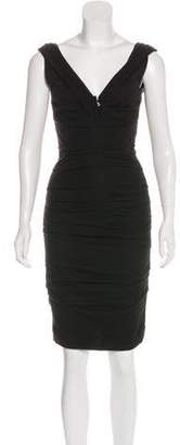 Dolce & Gabbana Draped Sheath Dress