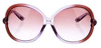 Tom Ford Sonja Oversize Sunglasses