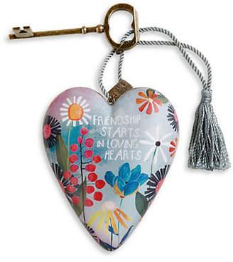 DEMDACO Friendship Loving Hearts Art Ornament
