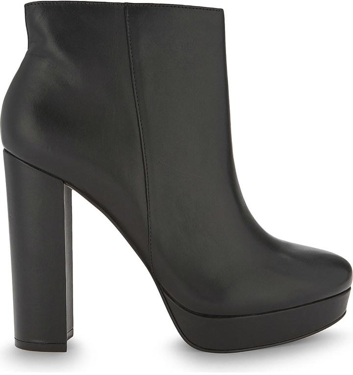 AldoALDO Emmanuela leather heeled ankle boots
