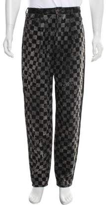 Marc Jacobs Checkered Five Pocket Jeans