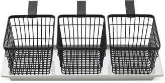 The Cellar Closeout! 4-Pc. Wire Basket Serving Set, Created for Macy's