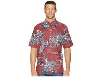 Reyn Spooner Kyoto Ponds Pop Over Aloha Shirt