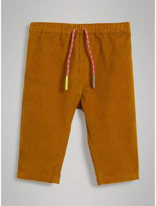 Burberry Childrens Corduroy Drawcord Trousers