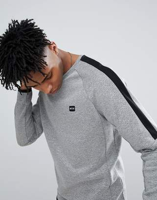 Jack and Jones Core Sweatshirt With Cut And Sew Panels