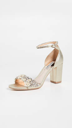 Badgley Mischka Finesse II Block Heel Sandals
