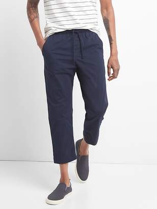 Gap Drawstring Wader Ankle Pants with GapFlex