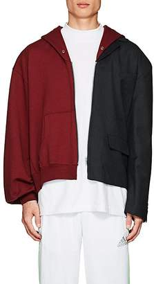 Gosha Rubchinskiy Men's Cotton & Wool Sportcoat Hoodie