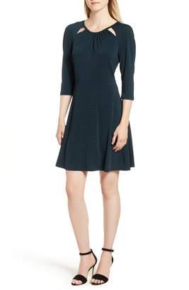 MICHAEL Michael Kors Sundot Fit & Flare Dress