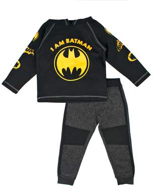 Toddler Boy DC Comics Batman Pullover Hoodie & Pants Set