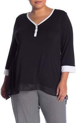 DKNY Pajama Top (Plus Size)