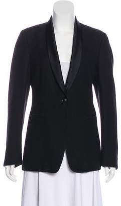 Dries Van Noten Wool Button-Up Blazer