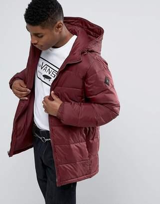 Vans Woodcrest MTE Padded Jacket In Red VA2X5U4QU