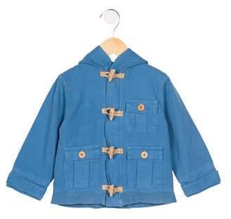 Marie Chantal Boys' Hooded Toggle Jacket