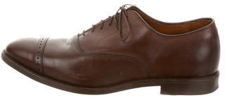 Allen Edmonds Allen Edmonds Leather Round-Toe Brogues