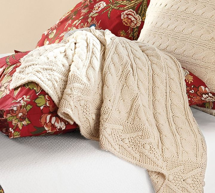 Cable-Knit Throw - Select Items