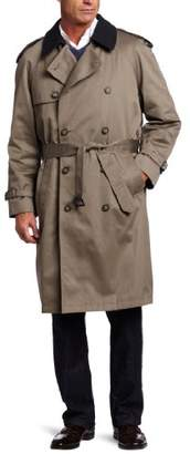Hart Schaffner Marx Men's Burnett Trench Coat