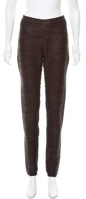 Gareth Pugh Textured Leather Leggings w/ Tags