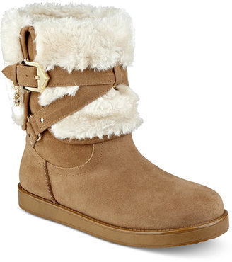 G by GUESS Alixa Cold-Weather Booties $69 thestylecure.com