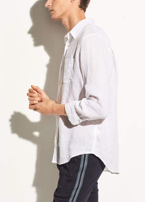 Washed Linen Long Sleeve