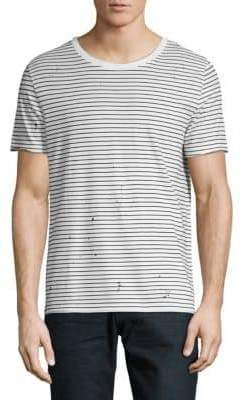 AG Jeans Striped Crew Tee
