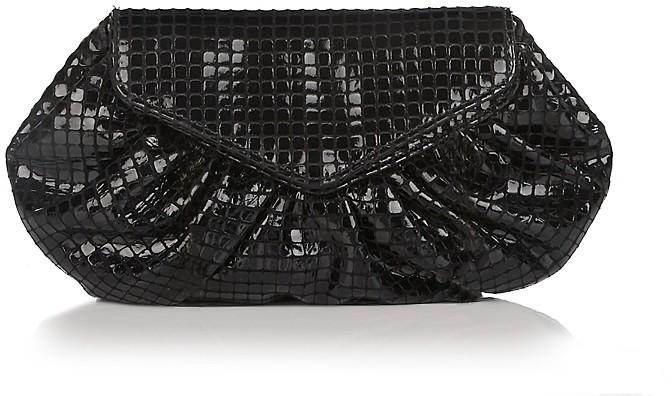 Lauren Merkin Diana Suede Leather Disco Bag