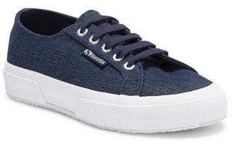 Superga 2750 Denim Shiny Platform Sneaker