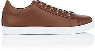 Gianvito Rossi Men's Leather Low-Top Sneakers - Med. brown