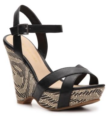 Audrey Brooke Doreen Wedge Sandal