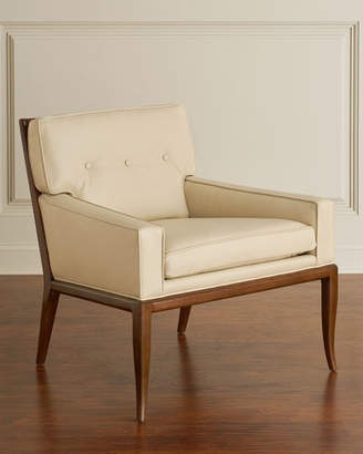 Global Views Gilley Leather Lounge Chair