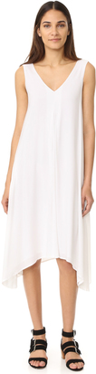 James Perse Double V Dress $295 thestylecure.com