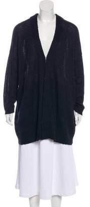 Pas De Calais Wool Long Sleeve Cardigan